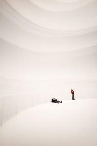 Christo im Gasometer Oberhausen, Foto Marcus Schwier