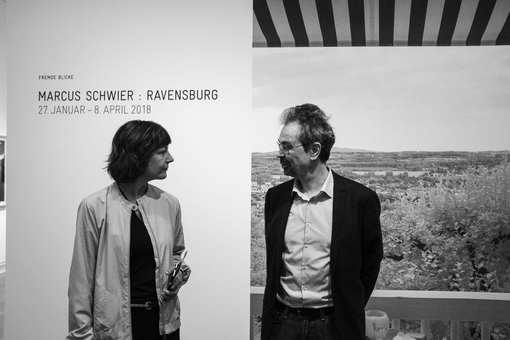 Künstlergespräch mit Künstler Marcus Schwier