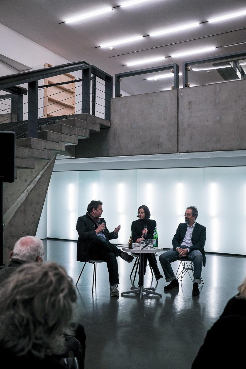 Renata Jaworska, Marcus Schwier und Gregor Jansen in der Kunsthalle Düsseldorf