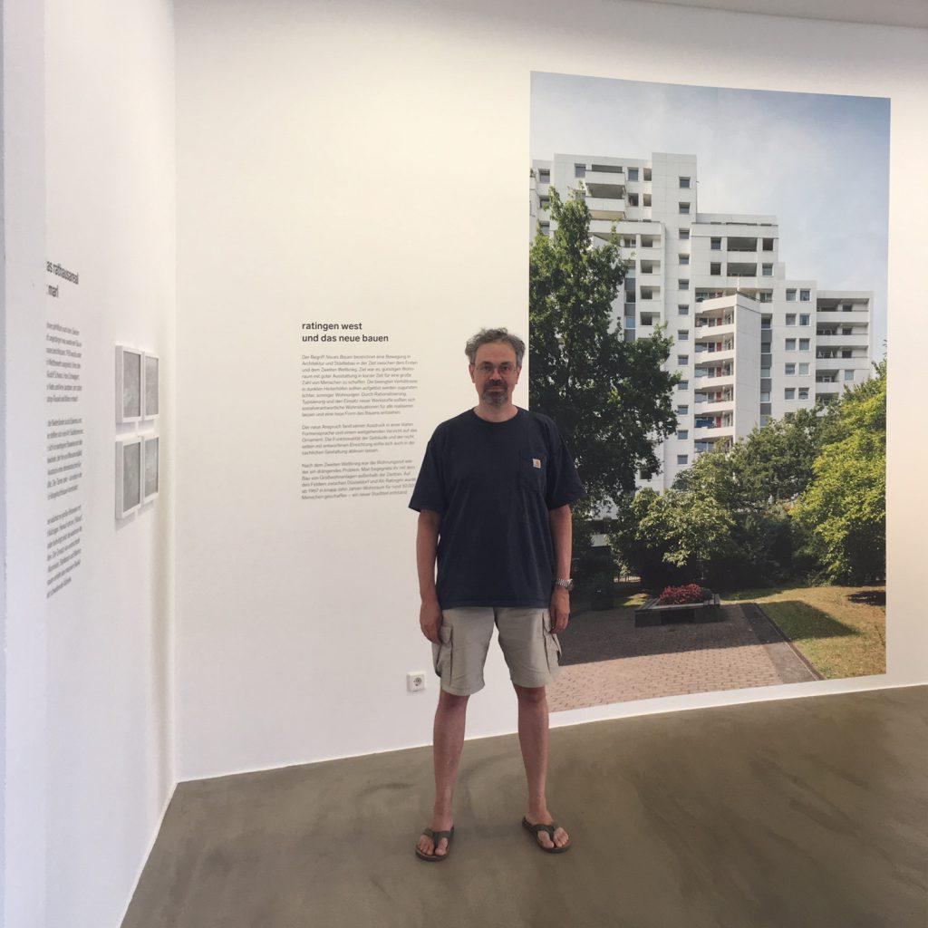 Marcus Schwier: Ratingen-West im Museum Ratingen anlässlich des Bauhaus Jubiläums